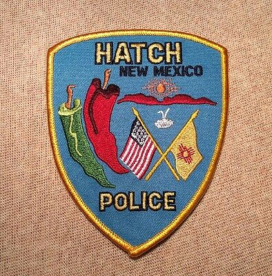 NM Hatch New Mexico Police Patch