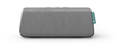 FUGOO Style - Portable Bluetooth Sound Speaker  Built-in Microphone (Silver)