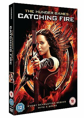 The Hunger Games: Catching Fire [DVD] [2013] Jennifer Lawrence New Sealed