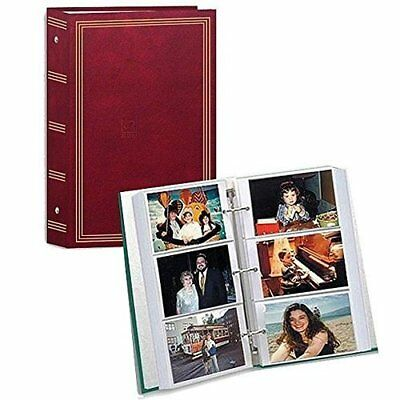 Photo Album 4x6 500 Photos Organizer Wedding Baby Family Pictures Holder Storage