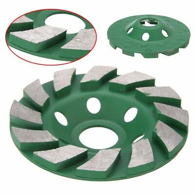 100mm Diamond Grinding Concrete Cup Wheel Disc Concrete Masonry Stone Tool 6mm