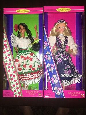 Mexican & Norwegian Dolls BARBIE Special Edition (H122)