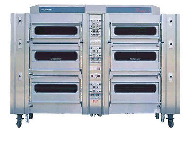 Rotel 2 Rotary oven - 8 deck (24 tray)