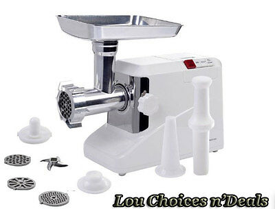 Electric Meat Grinder Multi Purpose Kitchen Cutting Tool 3 Steel Blades 3 Speed