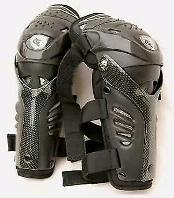 Wulfsport Adults Motocross Body Protection Hinged Knee Shin Pad Armour New Model