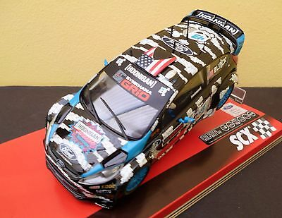 Ford Fiesta Rs Wrc Block A10157X300 Scx/scalextric Mint/boxed