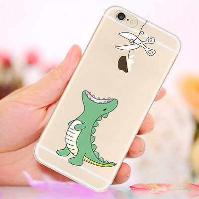 Patterned Soft TPU Silicone Etui Housse Coque Back Case Pour iPhone 7 6 6s Plus