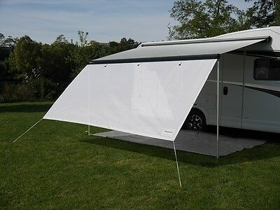 Sun View Blocker Screenwall Markise Thule Omnistor Caravanstore Gr. 01 260x190cm