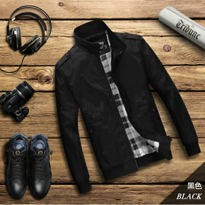 2017 New Men's Slim collar jackets fashion jacket Tops Casual coat outerwear