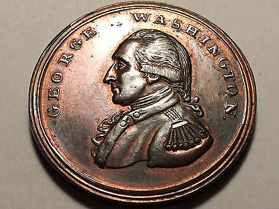 (c 1795 ) George-Washington-Liberty-and-Security--Colonial-Penny * High Grade *