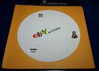 Ebay 1998 The Very First Annual Report To Shareholders Excellent Condition !