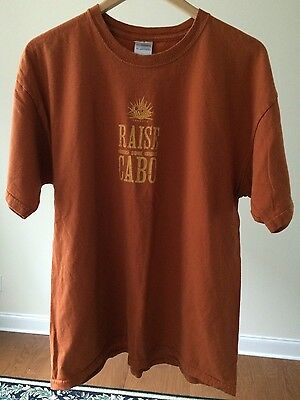 "Cabo Wabo Tequila ""Raise Some Cabo"" Gildan T-Shirt Size XL - FREE SHIPPING!"