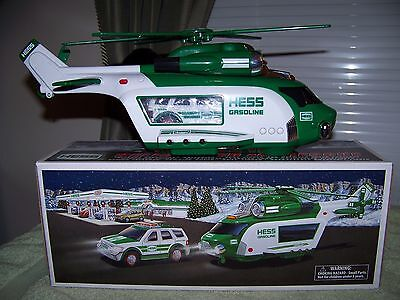 2012 HESS Helicopter & Rescue (MINT w/Box & Everything Works!!)