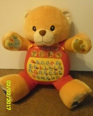 Vtech Alfie Large Interactive Learning Bear 100% Working