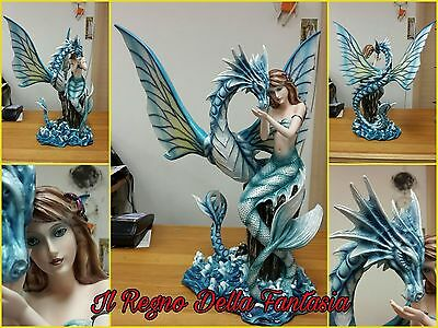 Fairy Elfen Fees Fata Mermaid Syren Sirena Drago Marino Colorato No Les Alpes