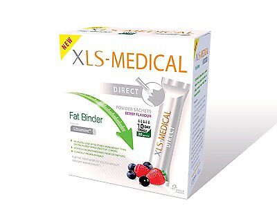 XLS Medical Fat Binder Direct Weight Loss Aid  - 10 Day Trial Pack, 30 Sachets