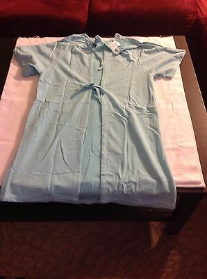 (12) Encompass Pediatric Gowns / Pajamas Flannel Size L 9-12 ~ Ins Included