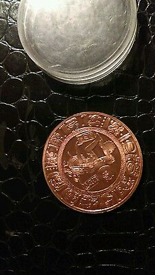 Rare. Mexico medal 2 onces Cooper