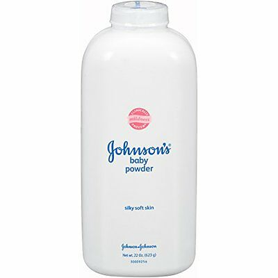 Johnson's Baby Powder 22 Oz Pack of 3 Diaper Care, New