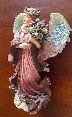 """THE CHARMING ANGELS Collection Figurine by BOYDS """"VIVIANA.... """"GUARDIAN OF LOVE"""""""