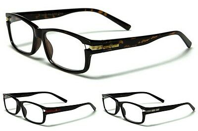 New Khan Unisex Plastic Frame PRESCRIPTION Rx Reading Clear Glasses KN917RD