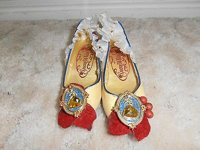 Girl's Genuine Disney Princess High-Heeled Snow-White Shoes Size 11/12 Red