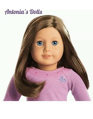 NEW AMERICAN GIRL TRULY ME #23 Doll Light Skin, Freckles, Brown Highlight Hair