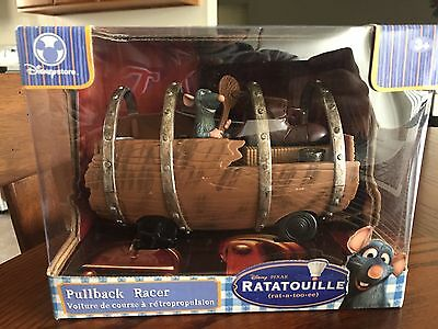 Disney Pixar Ratatoille Pullback Racer Toy Collectible Remy