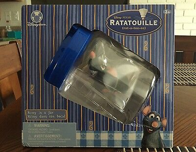 Disney Pixar Ratatoille Remy in a Jar Toy Collectible Unopened