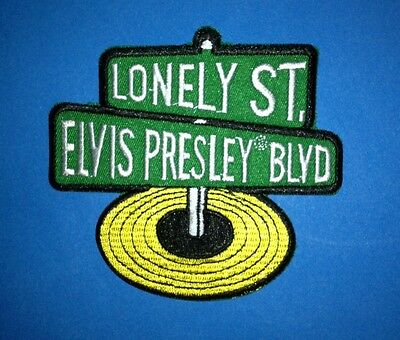 Elvis Presley Rock & Roll Music Iron On Hat Jacket Backpack Hoodie Patch Crest