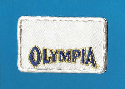 Olympia Oly Beer Sew On Employee Uniform Jacket Patch Crest A