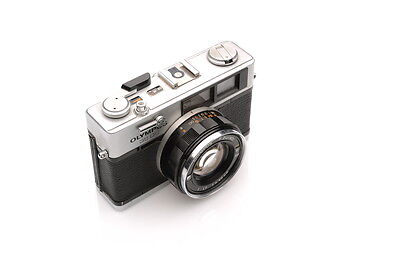 Olympus 35 DC 35mm film rangefinder camera TESTED WITH FILM
