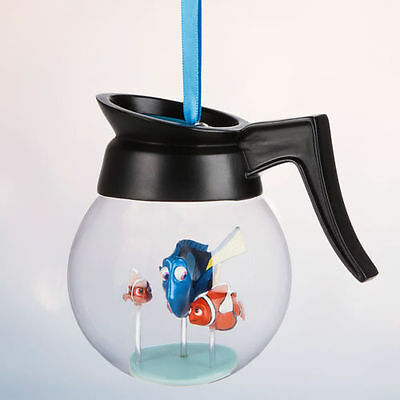 Disney Store 2016 Sketchbook Ornament FINDING DORY Coffee Pot Nemo New w/ Tags