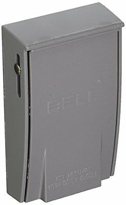 Hubbell- 1-Gang Weatherproof Vertical 30-50-Amp Receptacle Device Cover Gray
