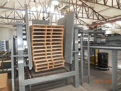 Complete Bag Palletizing Line Zygot ZA 10 Palletizer with Components