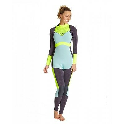 Roxy XY 3/2mm Back Zip Womens Wetsuit Size 8