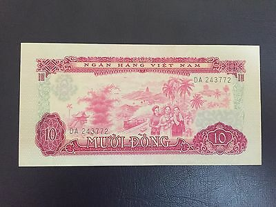 Vietnam 10 dong 1966 banknote Uncirculated