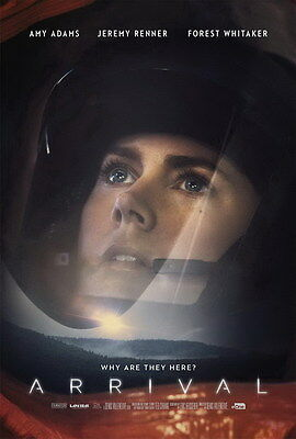 """5803 Hot Movie TV Shows - Arrival 2016 3 14""""x20"""" Poster"""