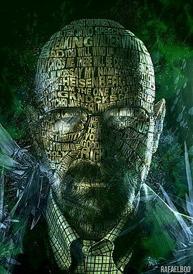 "5996 Hot Movie TV Shows - Breaking Bad 10 14""x19"" Poster"