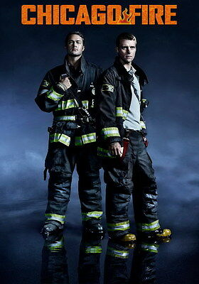 "6130 Hot Movie TV Shows - Chicago Fire 49 14""x19"" Poster"