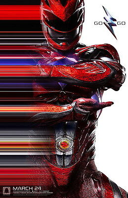 "7020 Hot Movie TV Shows - Power Rangers 2017 9 14""x21"" Poster"
