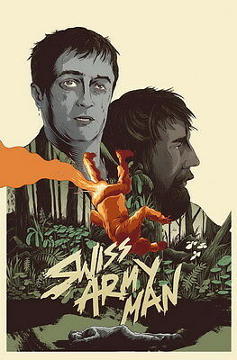 "7178 Hot Movie TV Shows - Swiss Army Man 2016 2 14""x21"" Poster"