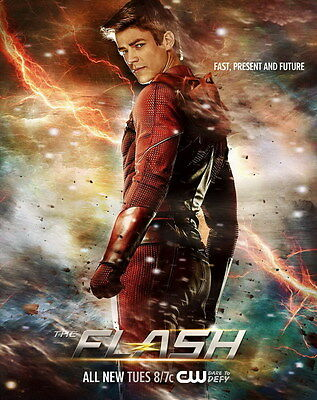 "7281 Hot Movie TV Shows - The Flash 3 14""x17"" Poster"