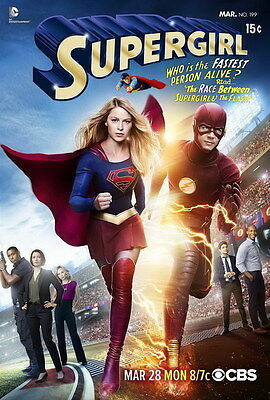 "7144 Hot Movie TV Shows - Supergirl 2 14""x20"" Poster"