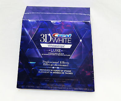 40Strips 20 Pouch Crest 3D White Whitening Luxe Whitestrips Professional Effects