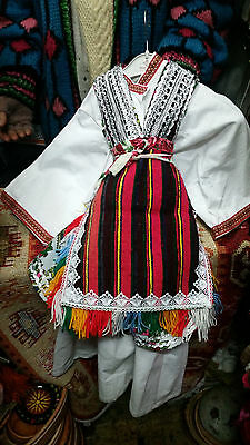 Traditional Folk Costume from Macedonia