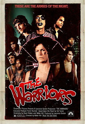 "7577 Hot Movie TV Shows - The Warriors 1979 20 14""x20"" Poster"