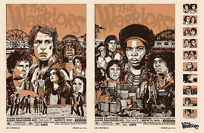 "7573 Hot Movie TV Shows - The Warriors 1979 17 21""x14"" Poster"