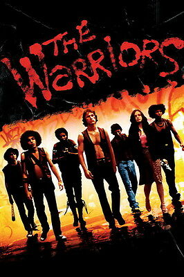 "7568 Hot Movie TV Shows - The Warriors 1979 12 14""x21"" Poster"