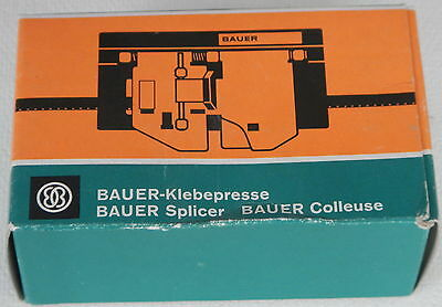 Bauer Super 8 Klebepresse Splicer Colleuse neu Ovp